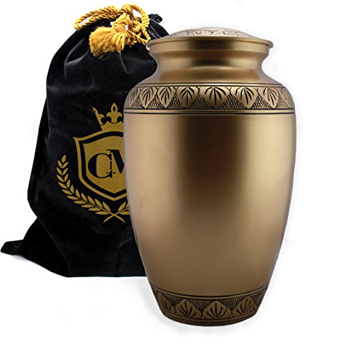 urns for human ashes brass - 5