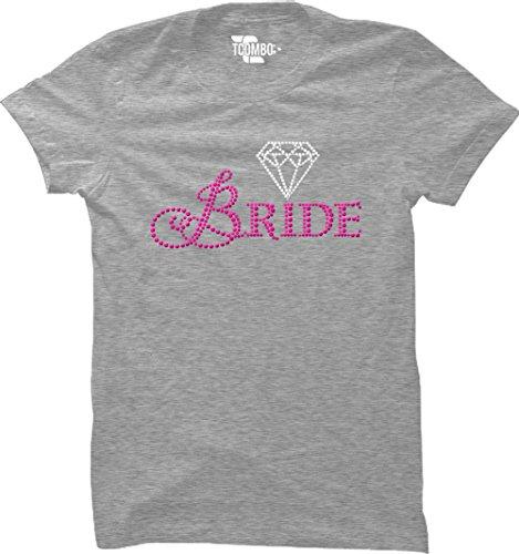 Bride Women's T-Shirt (Light Gray, XX-Large)