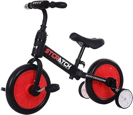 Bicicleta d eEquilibrio niños, Triciclos Bebes 1 Año 4 EN 1 Triciclo Niños Desmontable Rueda+18 Meses Multifuncional Bicicleta niños, Black: Amazon.es: Deportes y aire libre