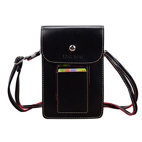 Multifunctional Leather Wallet Carrying case Shoulder