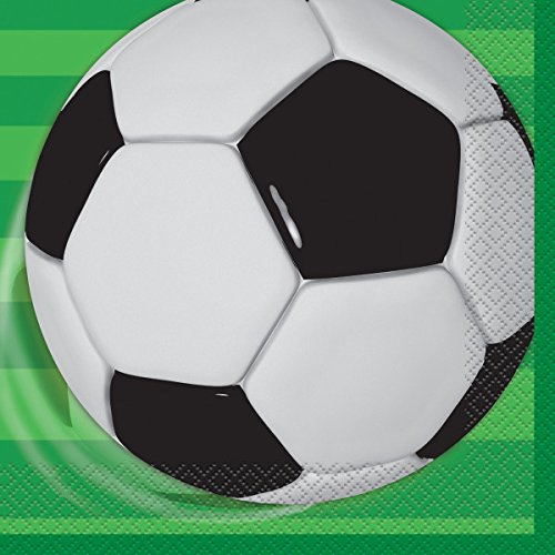 Unique 27302 Soccer Party Napkins