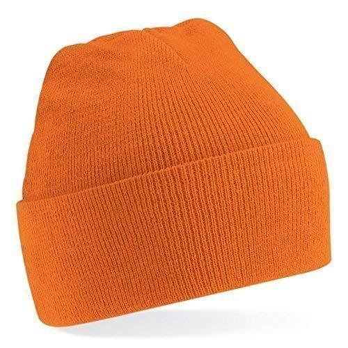 Gorro invierno de de Tejer Colores Talla talla gorro moda de Shirtinstyle lana Naranja Amarillo Unisex única mucho gorro 0wE0z