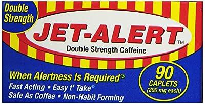 Jet Alert Double Strength Caffiene Tablets
