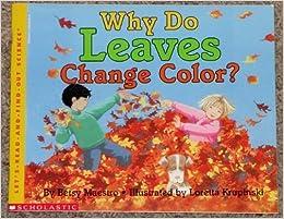Why Do Leaves Change Color?: Betsy Maestro, Loretta Krupinski ...