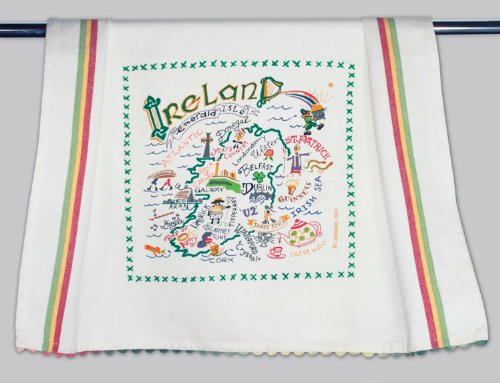 sh Towel - Original Geography Collection Décor 065D(CS) (Ireland Bath Towel)