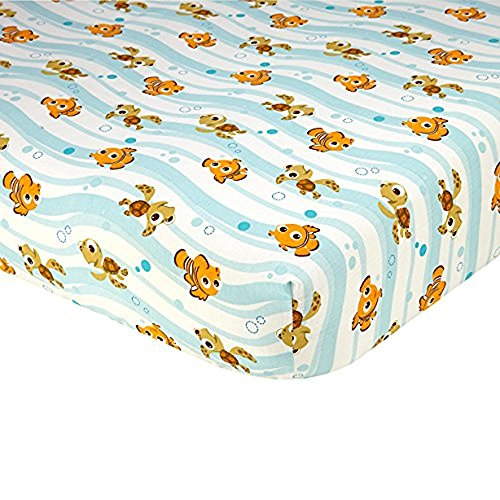 Disney Finding Nemo Crib Sheet,