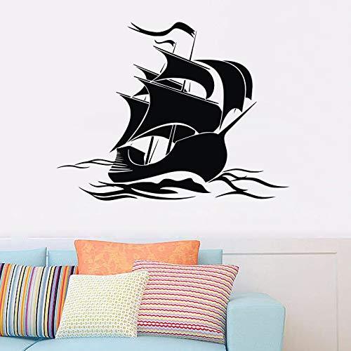 Barco pirata pegatinas de pared decoración de la habitación de los ...