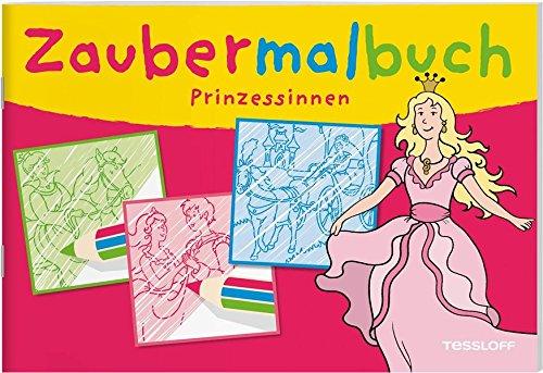 Zaubermalbuch Prinzessinnen  Malbücher Und  Blöcke