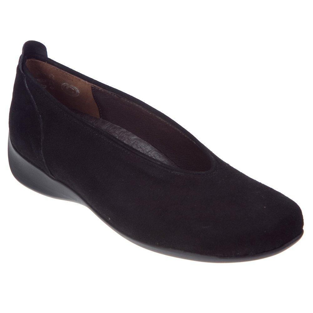 Wolky Comfort Ballet Pumps 00359 Ballet B004D4CN0Y 40 B(M) EU|Black Goat Suede