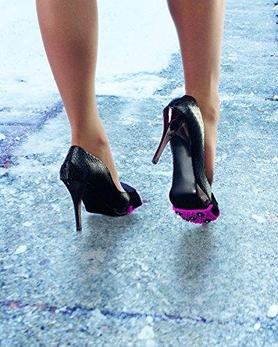 EB Marken UK High Heel Ice Traction-, schwarz