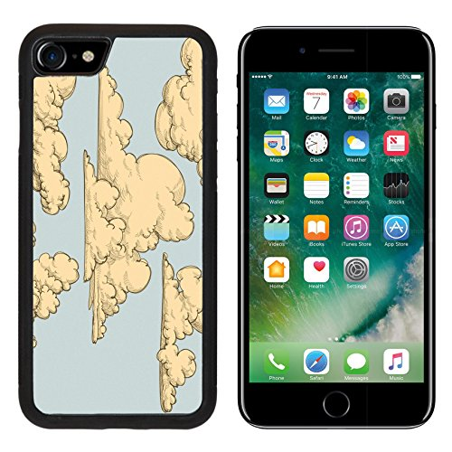 msd-premium-apple-iphone-7-aluminum-backplate-bumper-snap-case-iphone7-vintage-clouds-image-10086975