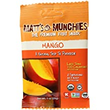 Matt's Munchies Island Mango Premium Fruit Snack, 1 oz