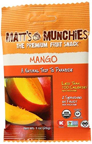 Matt's Munchies Island Mango Premium Fruit Snack, 1 oz