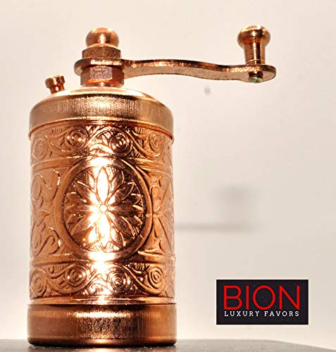 BION Spice Grinder, Pepper Mill, Turkish Handmade Grinder 3.0