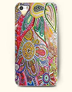 THYde OOFIT Apple iPhone 6 4.7 Case Paisley Pattern ( inspired Doodle of Paisleys, Flowers, Swirls ) ending