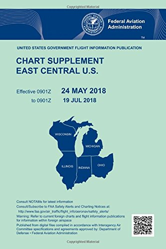 Chart Supplement East Central US: 24 May 2018