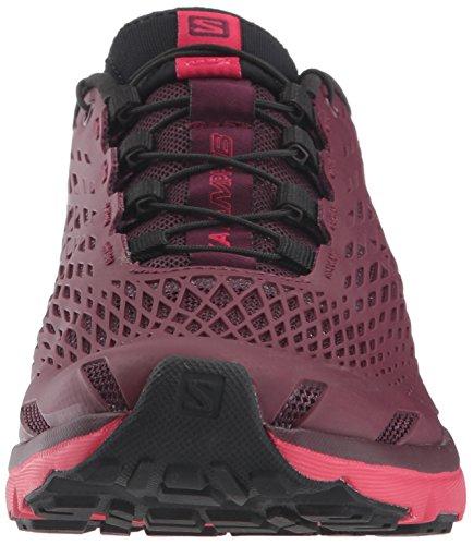 000 Beet W Rosa Xa Amphib Damen Violett amp; Wanderhalbschuhe Virtual Trekking Purple Red Pink Potent Salomon wTq4aZU