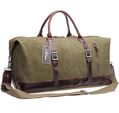 Weekend Travel Duffel Vinatge Leather
