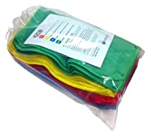 Commercial Color-Coded Cleaning Microfiber Cloths 20 pc. Set