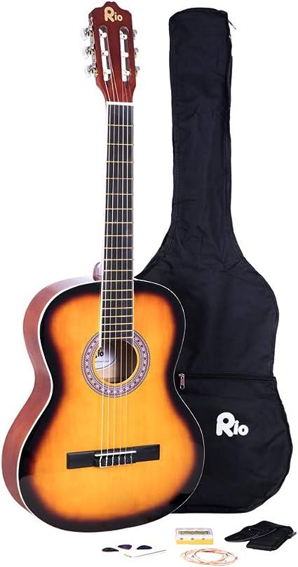 Paquete de cuerdas de nailon para guitarra clásica de tamaño ...