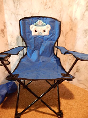 Personalized Sea Captain Bear Folding Chair (CHILD SIZE)