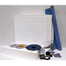 """'All-in-One' AlinO Shower Kit-48""""x48"""",32""""x60"""", any size upto 60""""x60"""" for Tiled shower"""