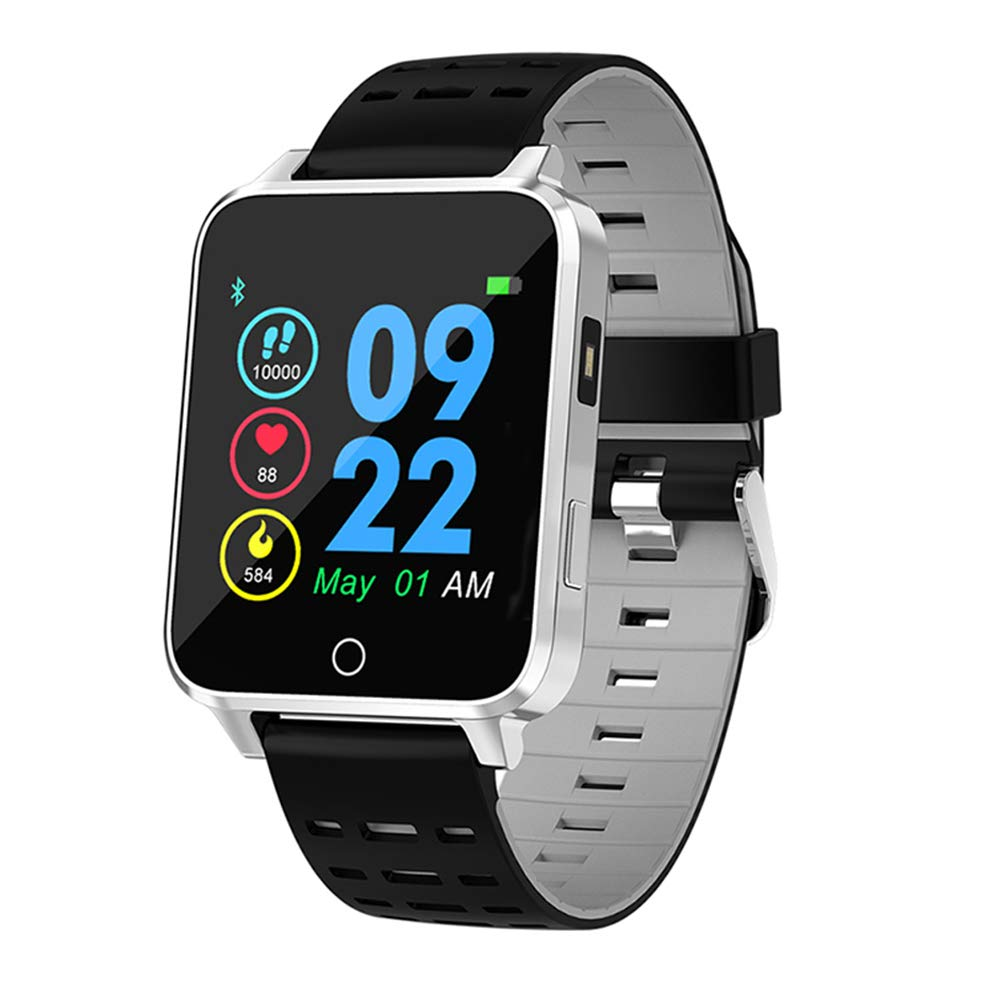 Qimaoo Smartwatch, Reloj Inteligente Hombre Mujer IP68 Impermeable ...