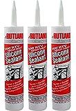 Rutland 500-Degree RTV High Heat Silicone Seal, 10.3-Ounce Cartridge, Clear (3 PACK)