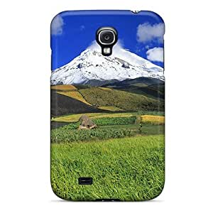 Hot Design Premium WjwRbWZ1687yDDvM Tpu Case Cover Galaxy S4 Protection Case(magnificent Mountain Lscape)