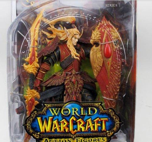 (7 Weapons World of Warcraft Models/Action Figure/Blood Elf Paladin)