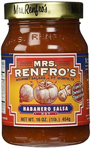 (Mrs. Renfro's Habanero Salsa, 16 oz)