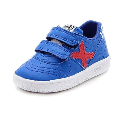 Munich Sport Baby Gresca VCO - Zapatillas Niño Azul Talla 19