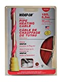 Wrap On 31018 2 Pack 18ft. 36W 120V Pipe Heating Cable, Red