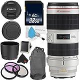 Canon EF 70-200mm f/2.8L IS II USM Telephoto Zoom Lens Bundle for Canon SLR Digital Cameras Intl Model - Advanced