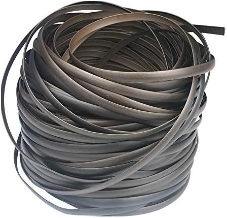 Mhome – Materiale di riparazione in rattan intrecciato in plastica per mobili da giardino, patio, panca in vimini resistente, kit di riparazione per tavolo (caffè sfumato)