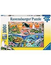 Ravensburger Beautiful Ocean Puzzle 100pc,Children's Puzzles