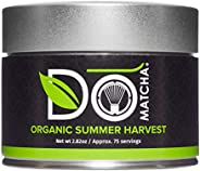 DoMatcha Green Tea, Organic Summer Harvest Matcha, 80g Tin