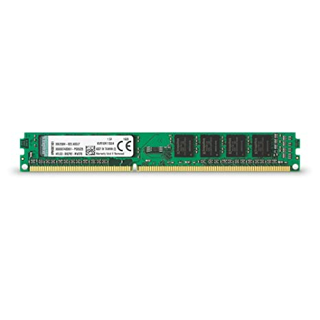 Kingston KVR16N11S8/4 - Memoria RAM de 4 GB (1600 MHz DDR3 Non-ECC CL11 DIMM 240-pin, 1.5V)