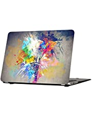 MacBook Pro 13 Inch Case, Funut Rubber Coated Glossy Plastic Hard Case Shell Fashion Style for MacBook Pro 13.3 Inch A1278, Creative Lamp