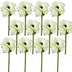 Lily-Garden-14-Artificial-Anemone-Silk-Flowers-Pack-of-12