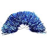 Pom Poms Cheerleading 6PCS, Cheerleader Use Costume Accessories for Ball Dance Fancy Dress Night Party Sports