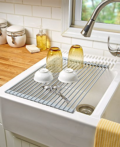 Roll-Up Sink Drying Rack by Generic