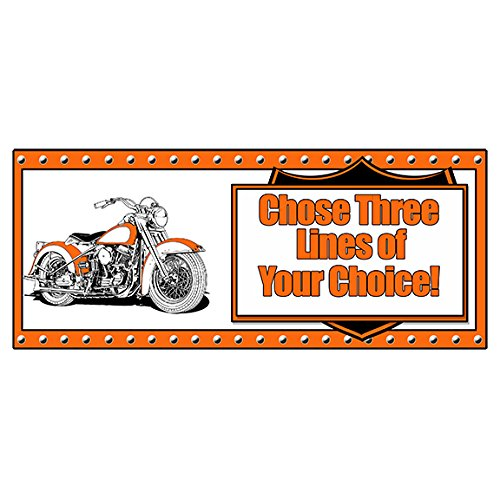 Partypro Personalized HAWG Motorcycle Banner (18