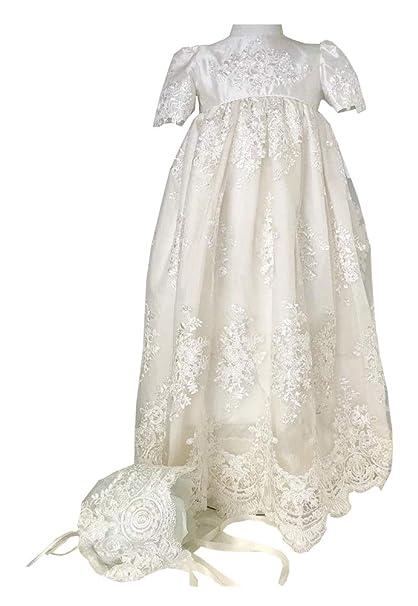 Amazon.com: Michealboy Vestido de bautizo, estilo vintage ...
