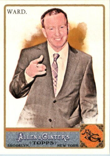 2011 Topps Allen and Ginter Baseball Card #6 Micky Ward - Boxer / Movie Life Story - The Fighter - MLB Trading Card from Topps
