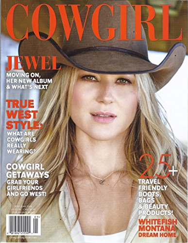 Cowgirl Magazine (April/May 2016 - Cover: Jewel)