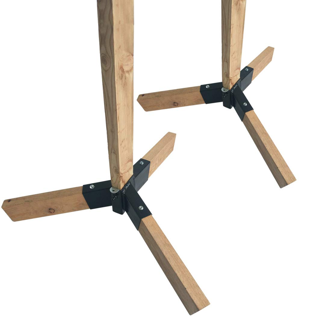 Highwild Target Stand Tripod Base for 2x4 Board - 2 Pack
