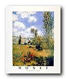 Claude Monet Ile Saint Martin, Vetheuil Impressionist Wall Decor Art Print Poster (16x20)