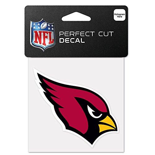 WinCraft NFL Arizona Cardinals 63035011 Perfect Cut Color Decal, 4