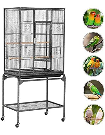 Smart Bird Canaries Cage Finches Feeder Seats Plastic Swing Hook Bird Pet Other Bird Supplies